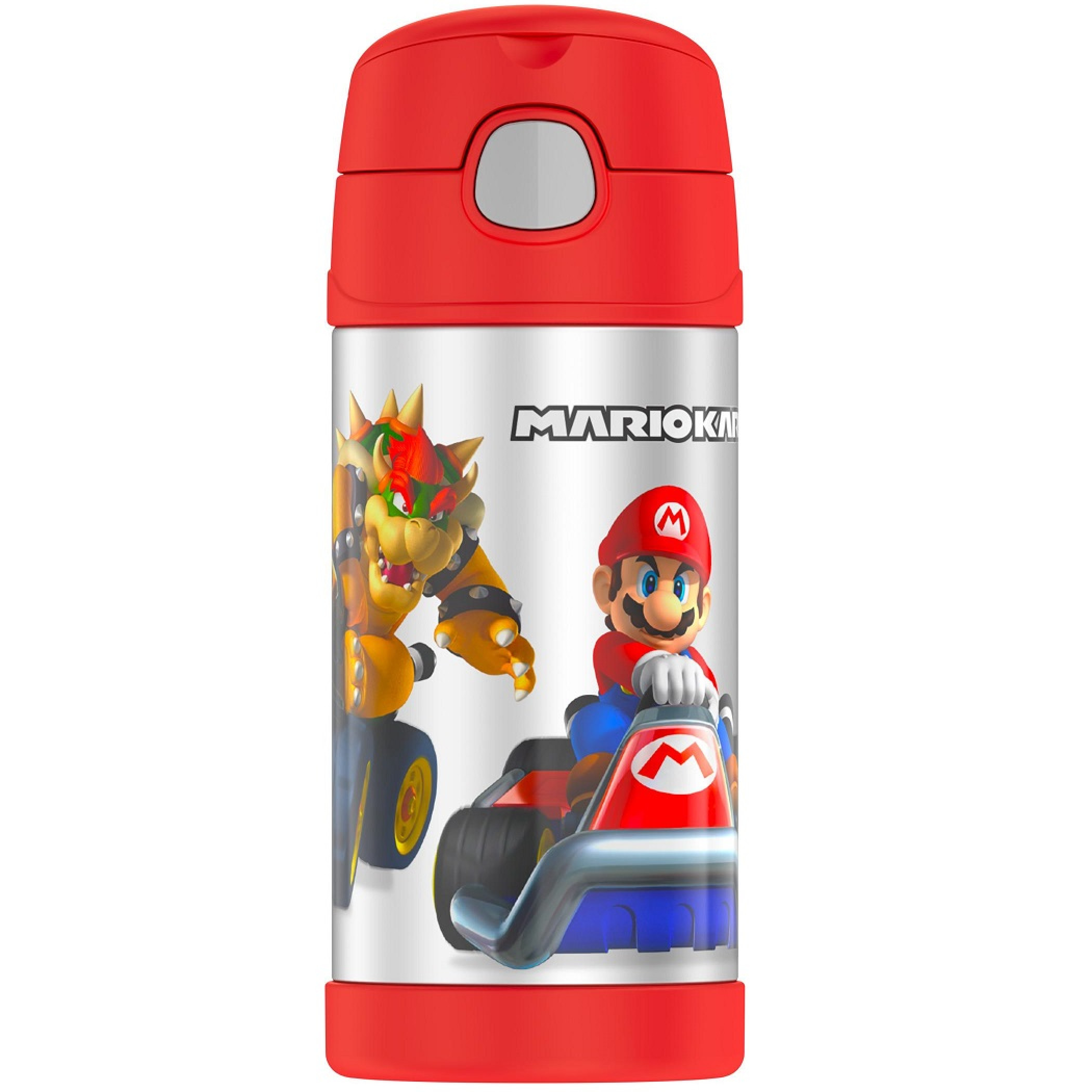 Mario Kart 12 Oz Thermos Bottle